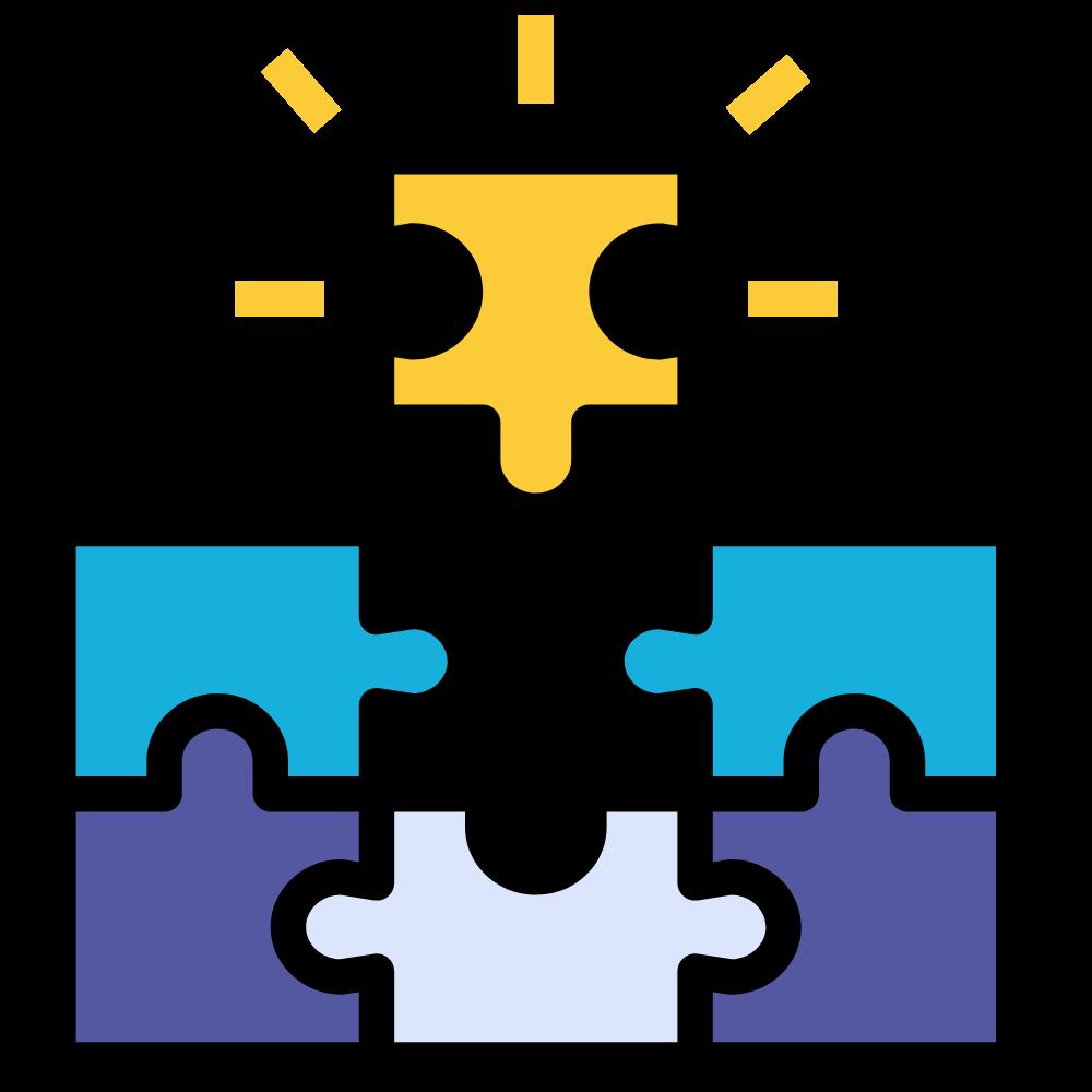 graphic of puzzle piece - inclusion representation