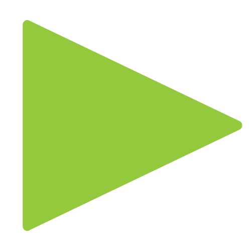This is a green graphic arrow which is being used as a bullet point.
