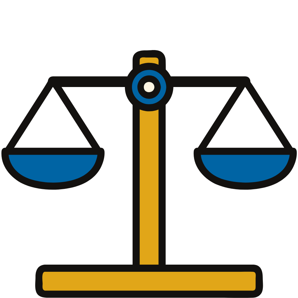balanced scales